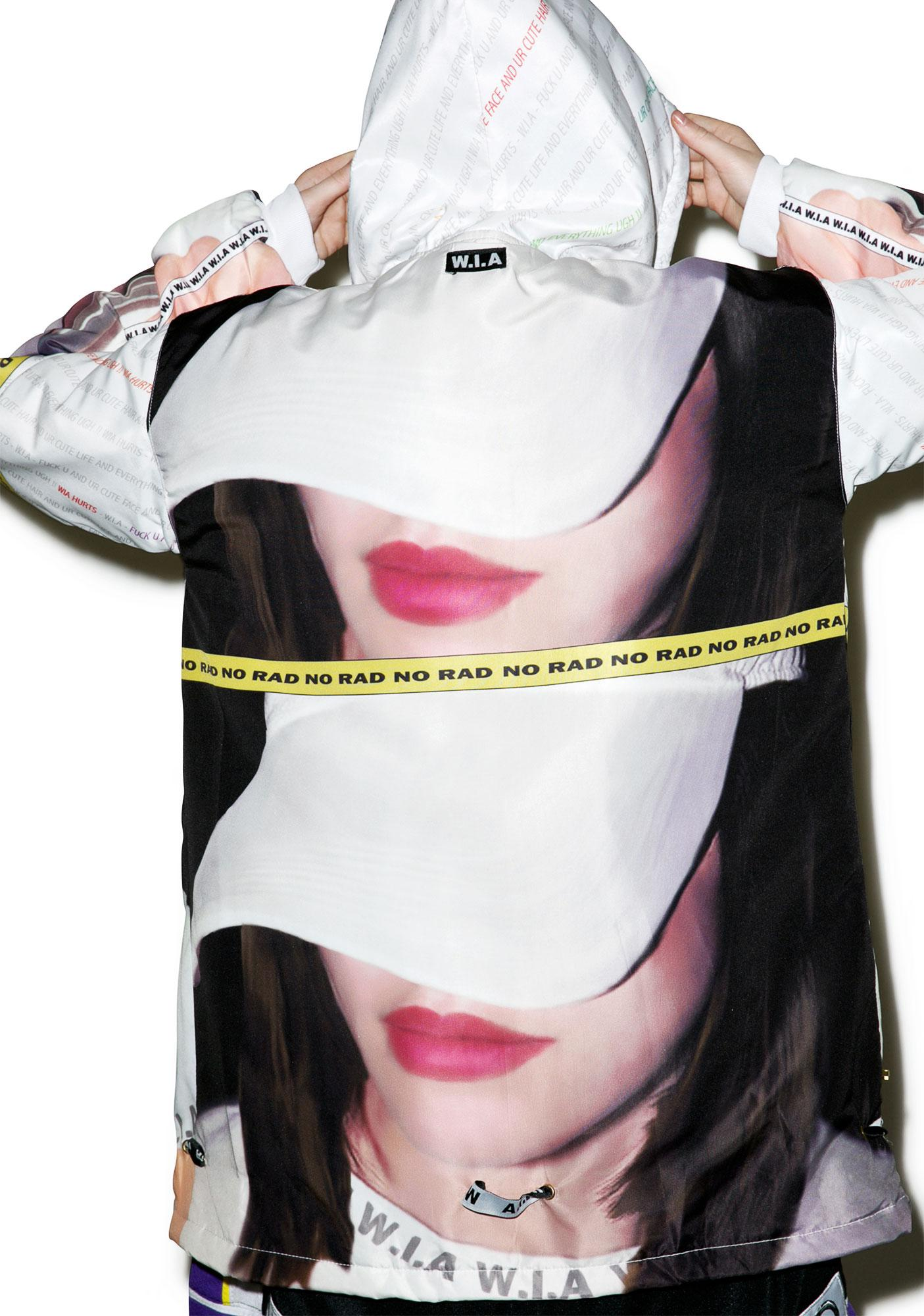W.I.A Selfie Hoodie Jacket