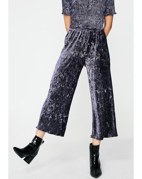 Just Relax Velvet Pants