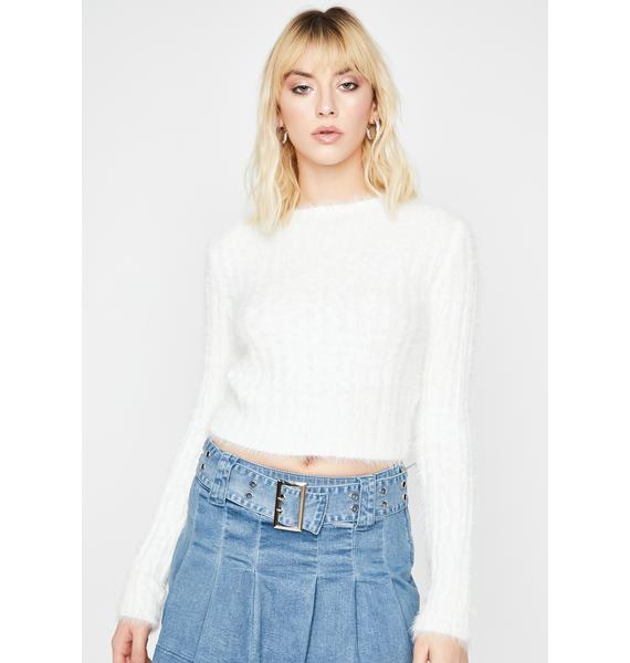 City Chic Knit Sweater