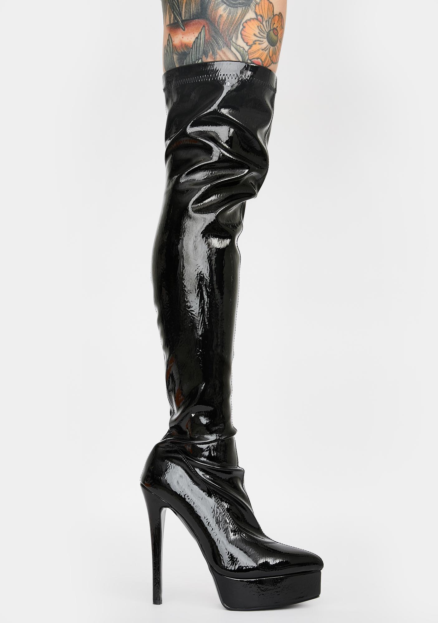 Public Desire Kat Platform Boots