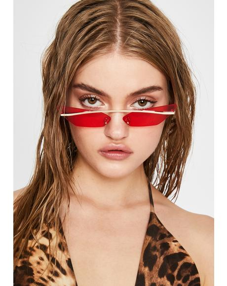 Flame Karma's Bish Cat Eye Sunglasses