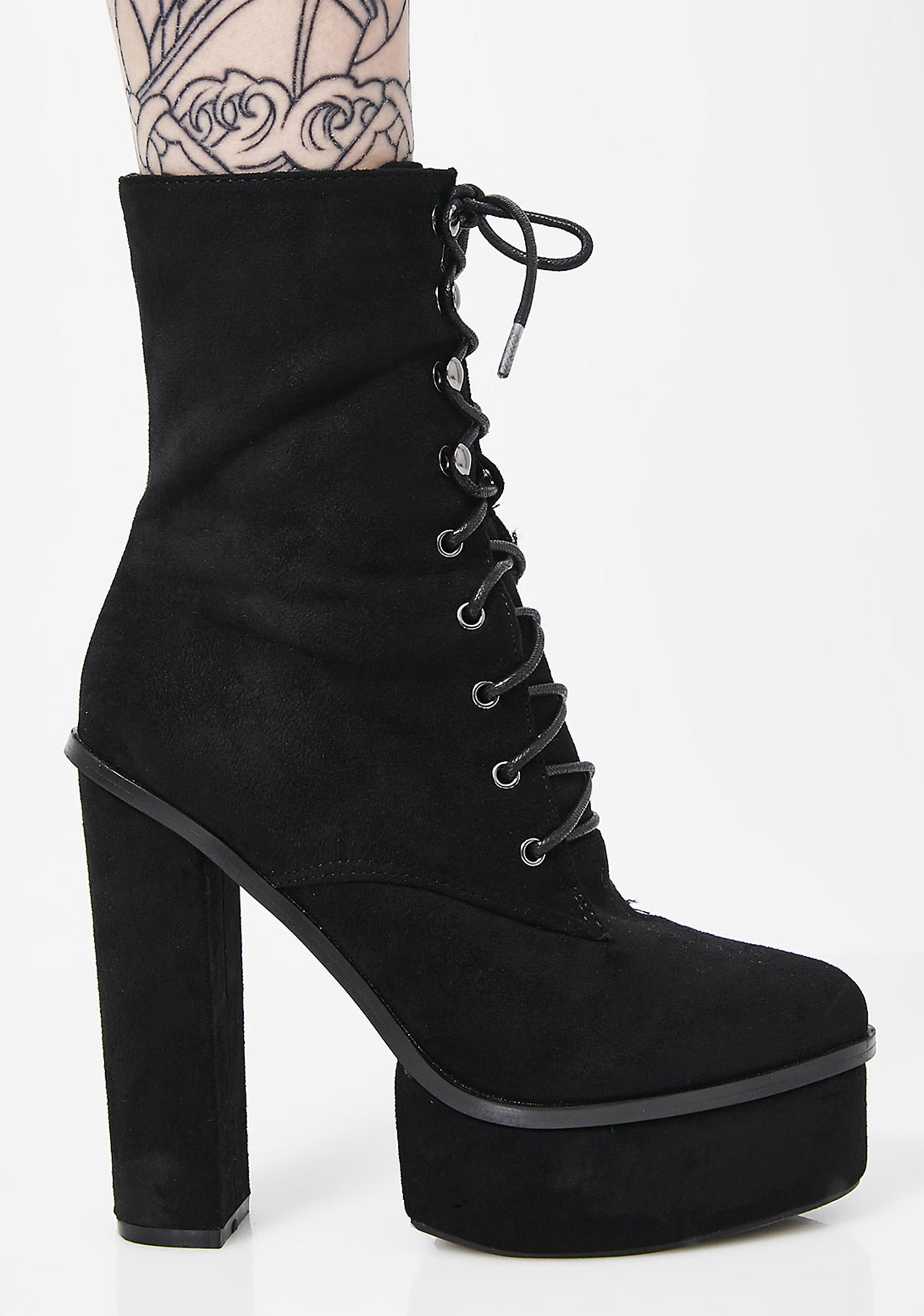All In It Platform Booties