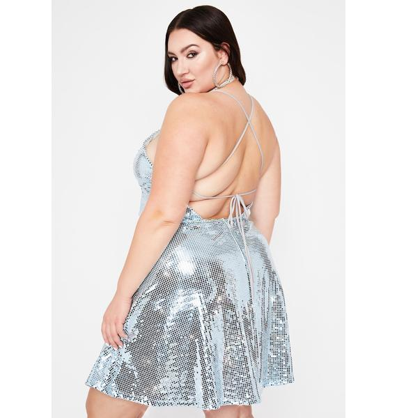 Icy Hellbound Date Mini Dress