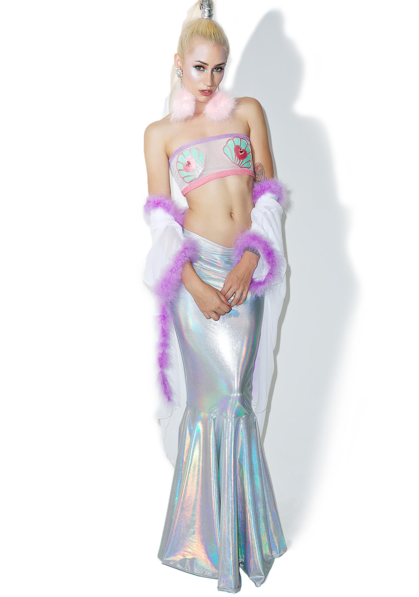 Kiss Me Kill Me Pastel Mermaid Top