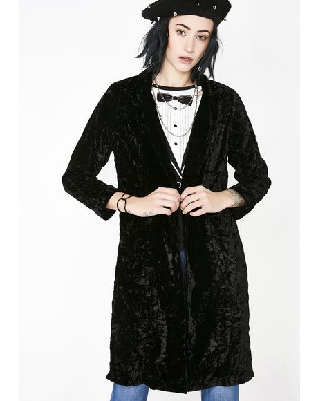 Party Appropriate Velvet Blazer