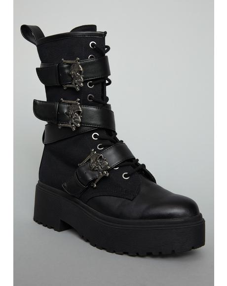 Immortalized Fate Combat Boots