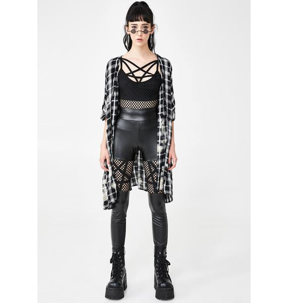Killstar Witchnet Strap Top