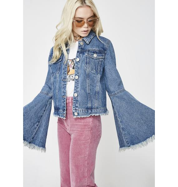 Glamorous Ring The Bell Denim Jacket