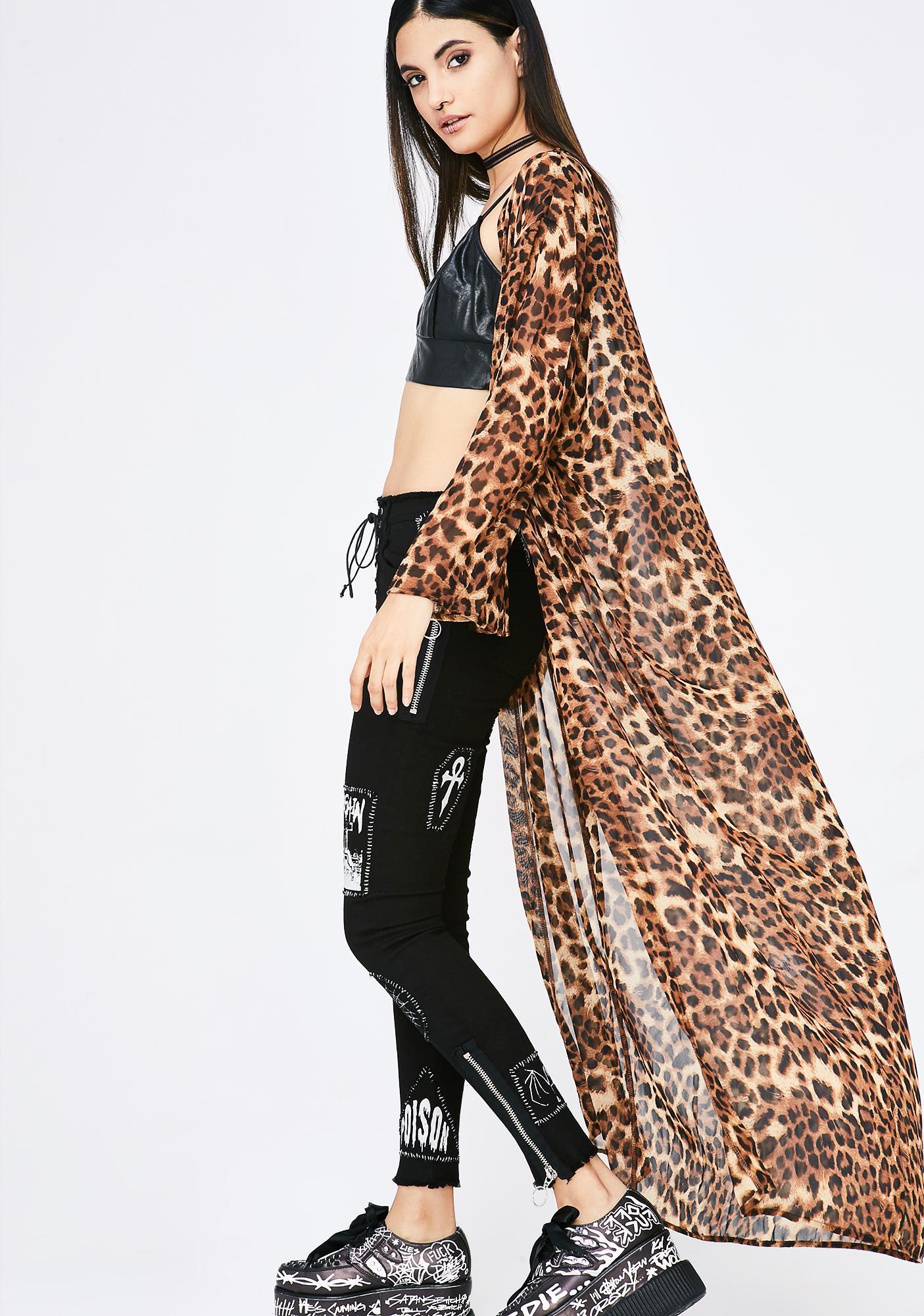 Feline Fancy Kimono