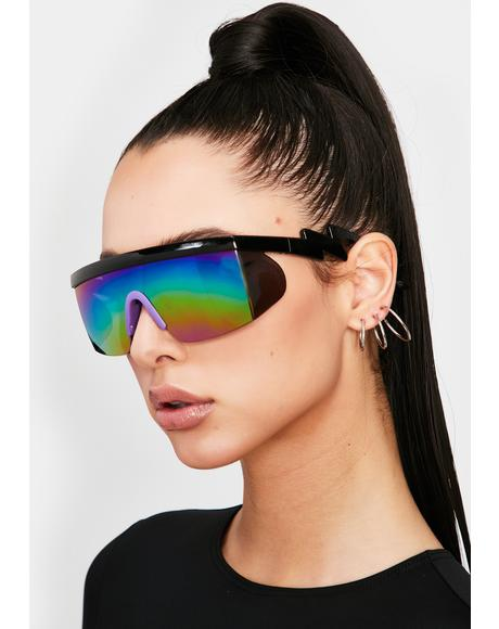 Magic Major Drip Shield Sunglasses