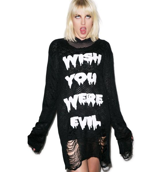 Killstar Wish Knit Sweater