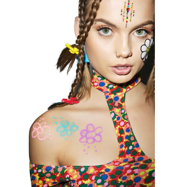 LA Splash Psychedelic Body Art Liner