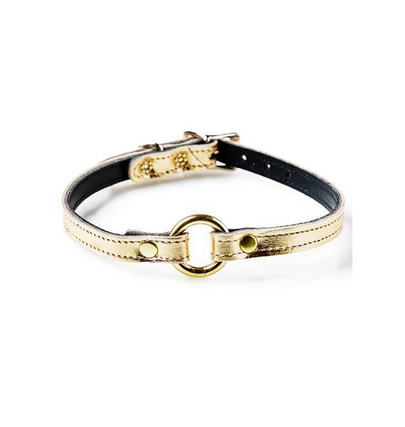 Gold Member O-Ring Choker