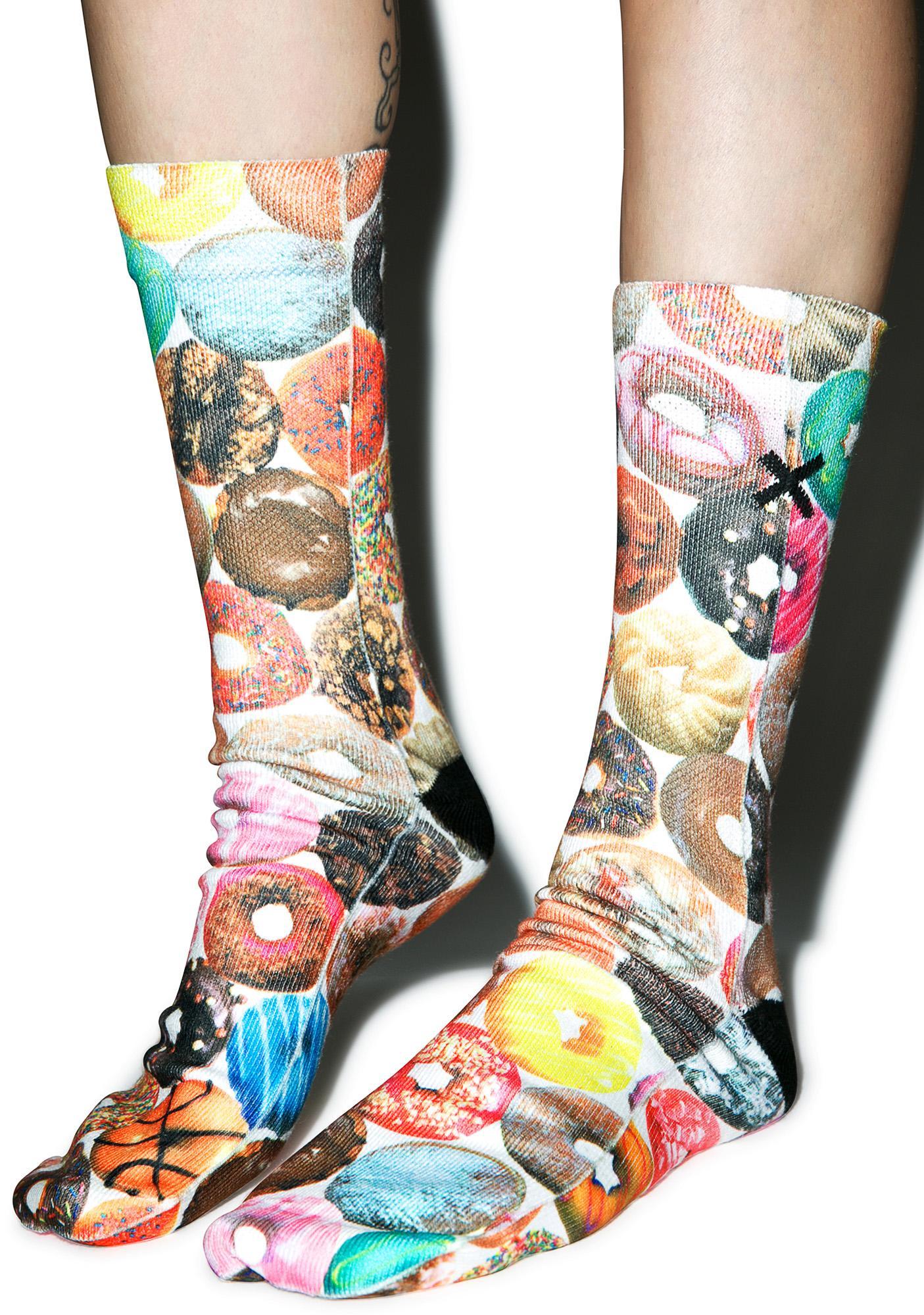 Odd Sox Doughnut Flavors Socks