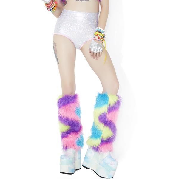 Wild Creature Fluffy Leg Warmers