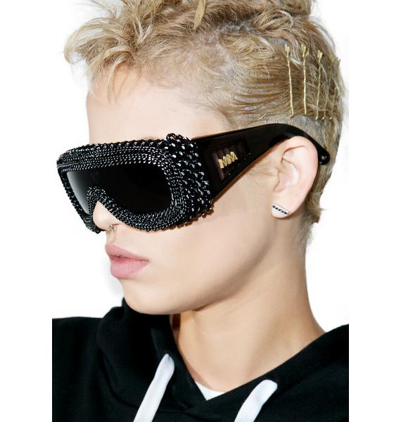 Material Memorie Daryl-X Chained Sunglasses