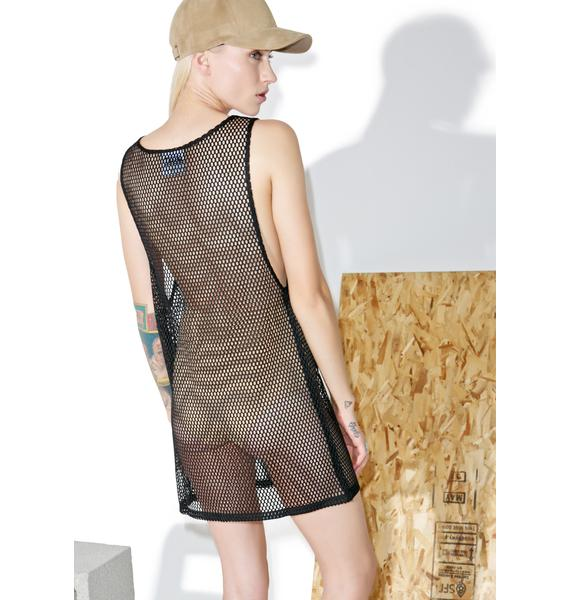 Shade London Oversized Mesh Tank