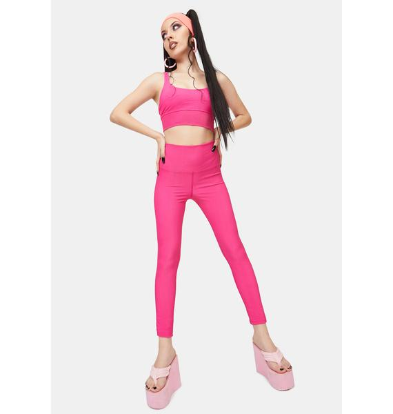 Beach Riot Fuchsia Ayla Leggings