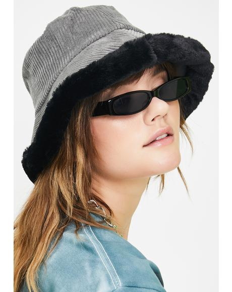 Smokin' Doll Baby Corduroy Bucket Hat