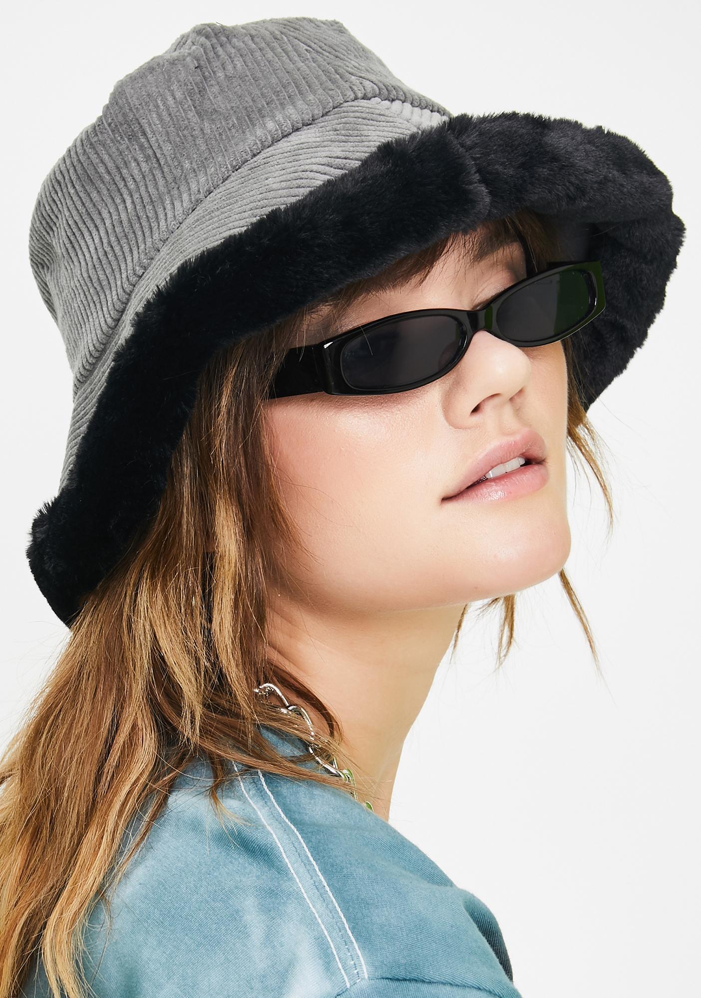 Smokin' Doll Baby Corduroy Bucket Hat