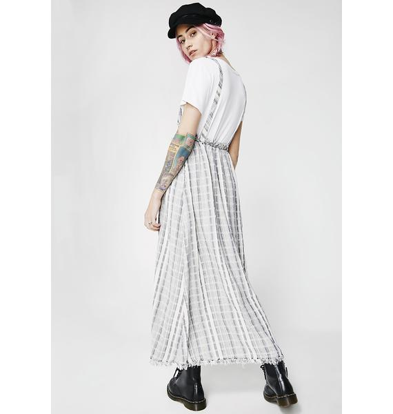 Don't Work Striped Skirt
