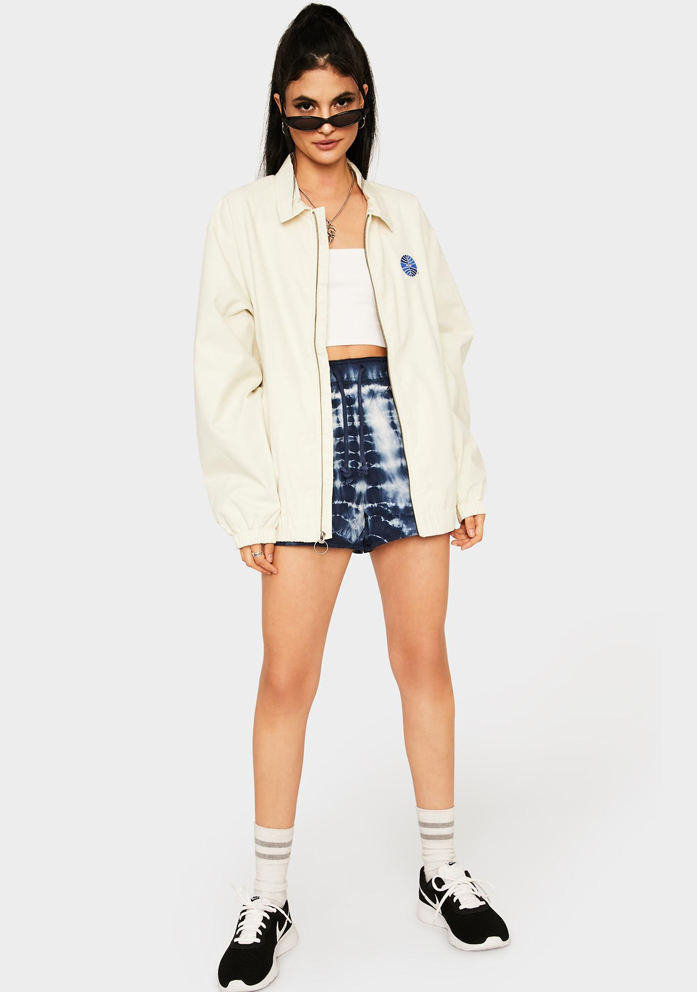 HUF Off White Aire Coach Jacket