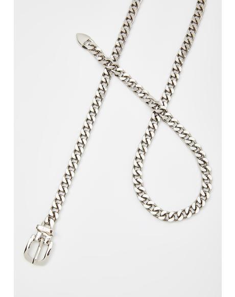 Fuxx'd Attitude Chain Belt