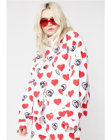 Betty Boop Heart Jacket