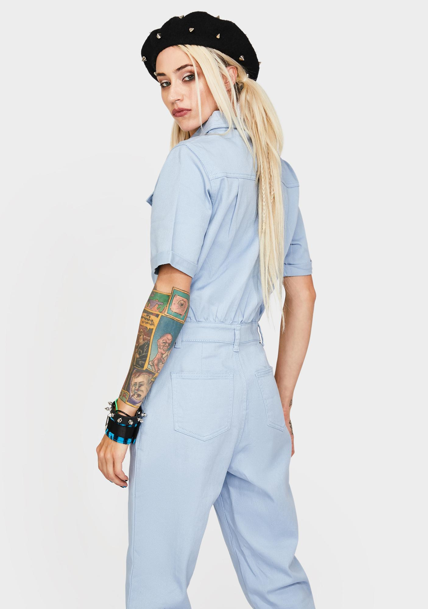 Current Mood Misfit To Society Boiler Suit