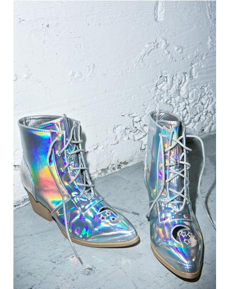 Cosmic Aura Boot