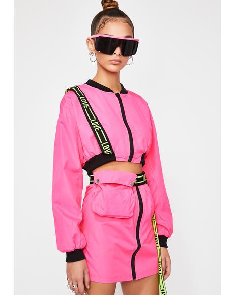 Pixie Rave Zone Skirt Set