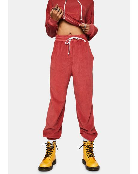 Cherry Friday Night Pants