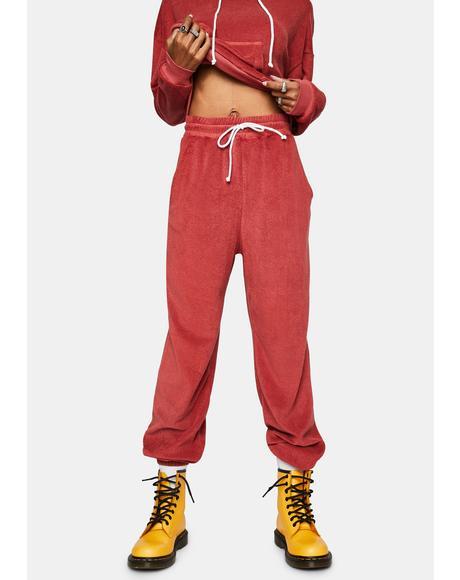 Cherry Friday Night Pants