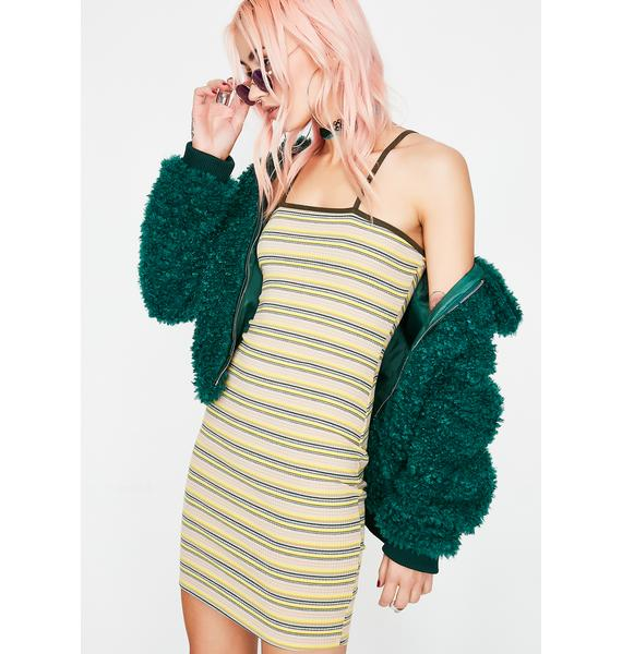 Get Into It Stripe Dress