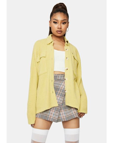 Sunshine State of Mind Button Down Jacket