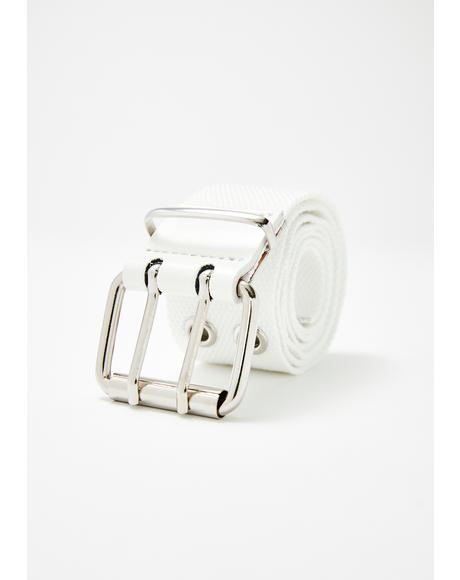 In Fashion Grommet Belt