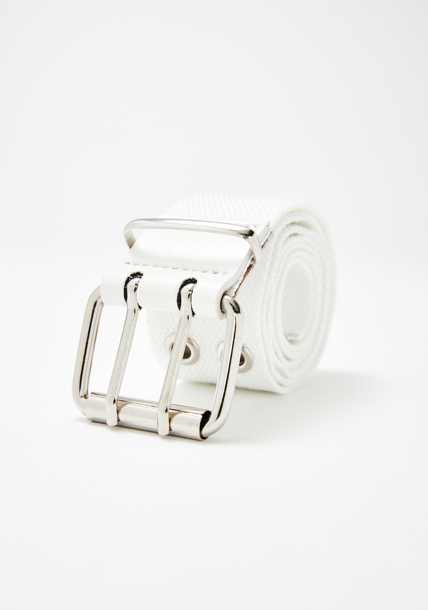 In Fashion Grommet Belt