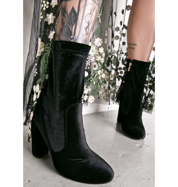 Glamorous Juliet Calf Boots