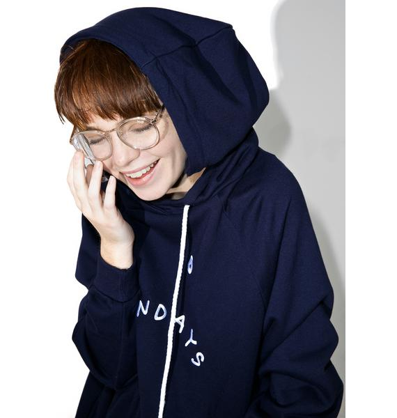 Lazy Oaf Mondays Hoodie Dress