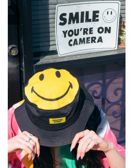 Smiley Bucket Hat