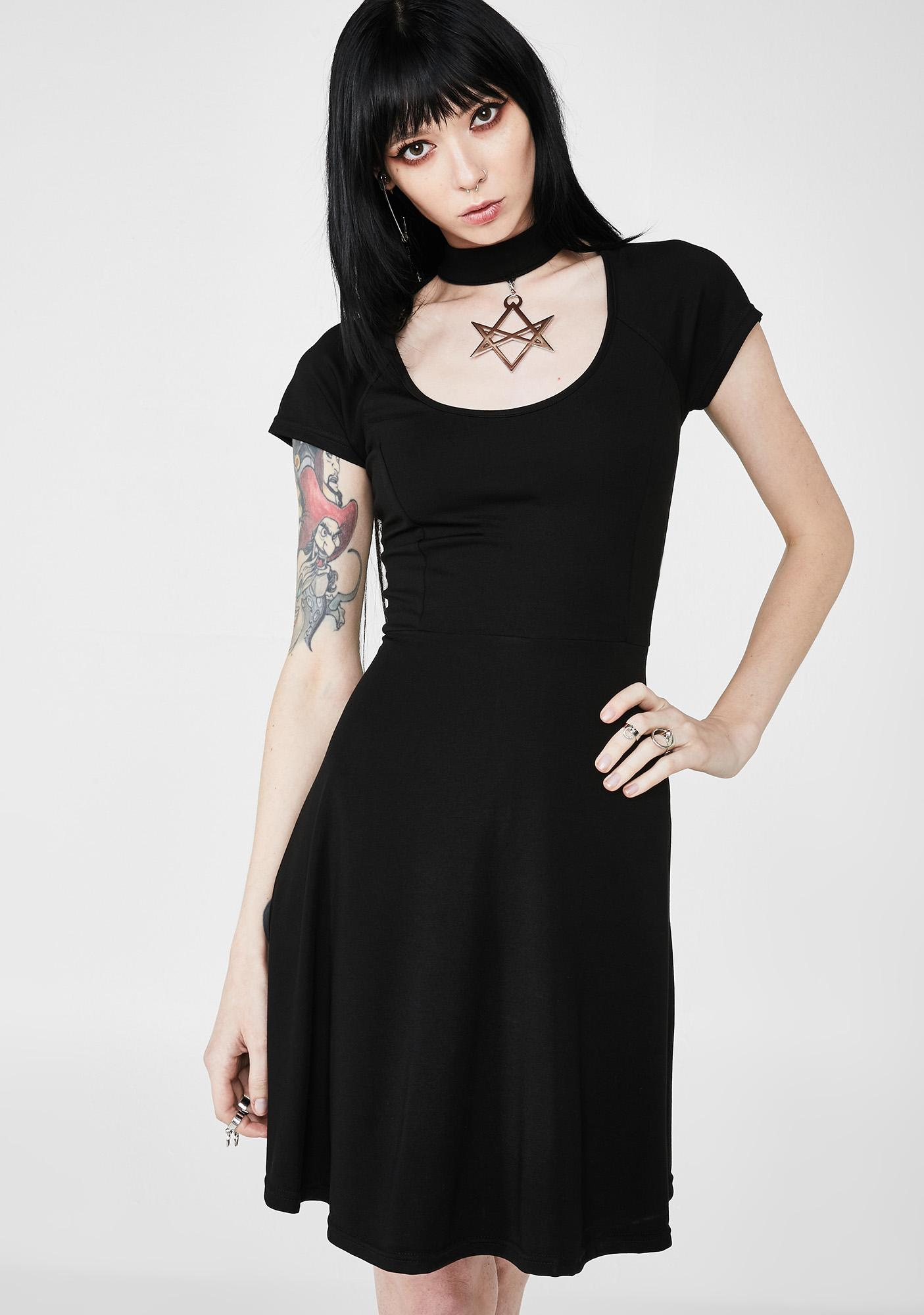 Killstar Sacred Sixx Skater Dress