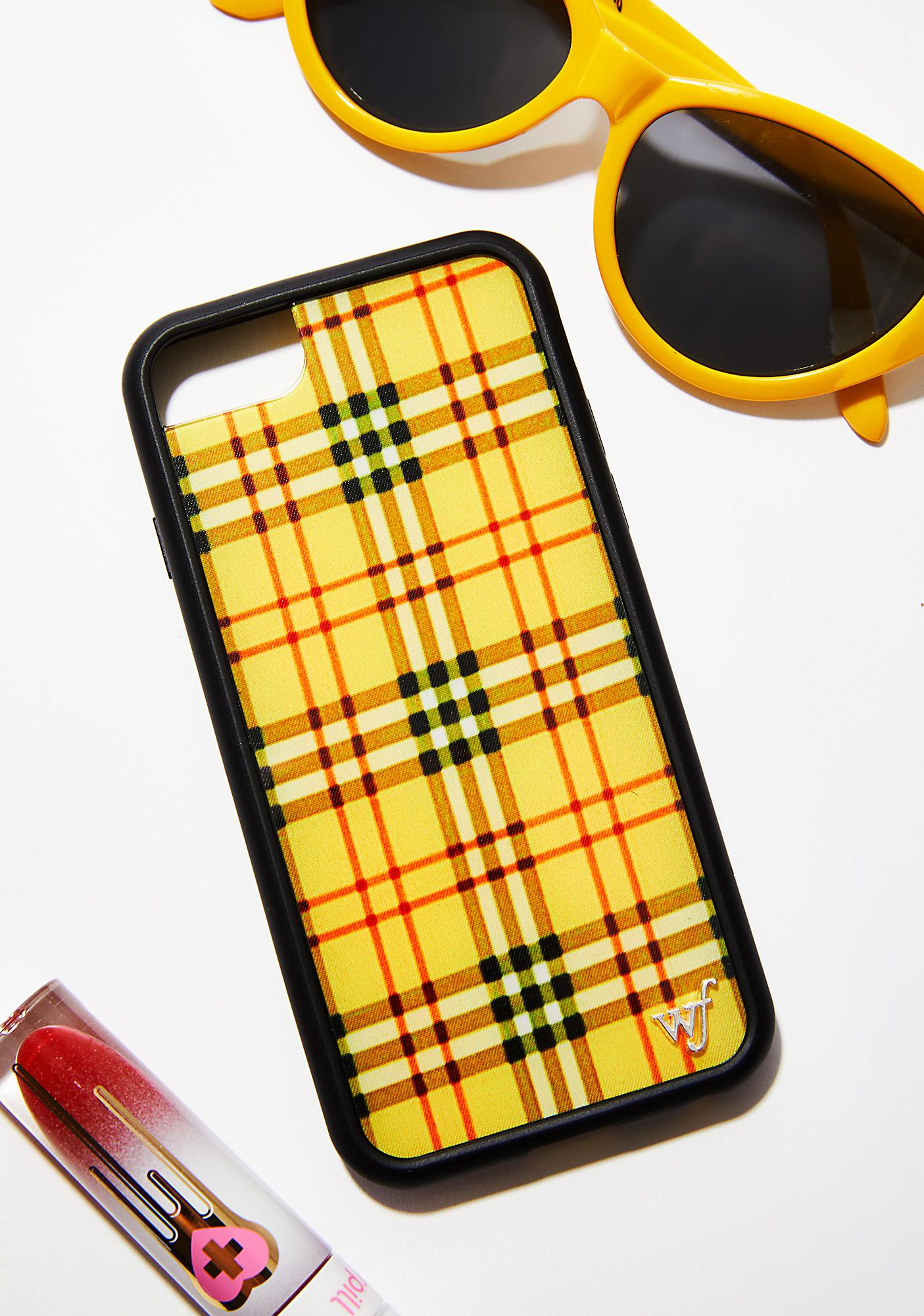 official photos c1910 6e264 Yellow Tartan iPhone Case