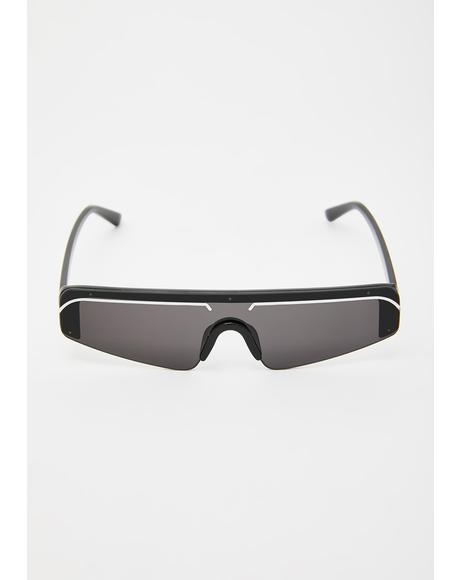 Dark My Reflekktion Shield Sunglasses