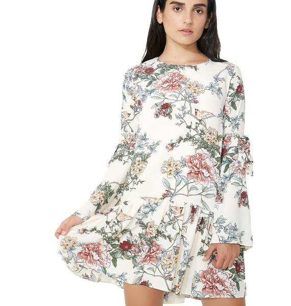 Glamorous Daisy Darling Floral Dress