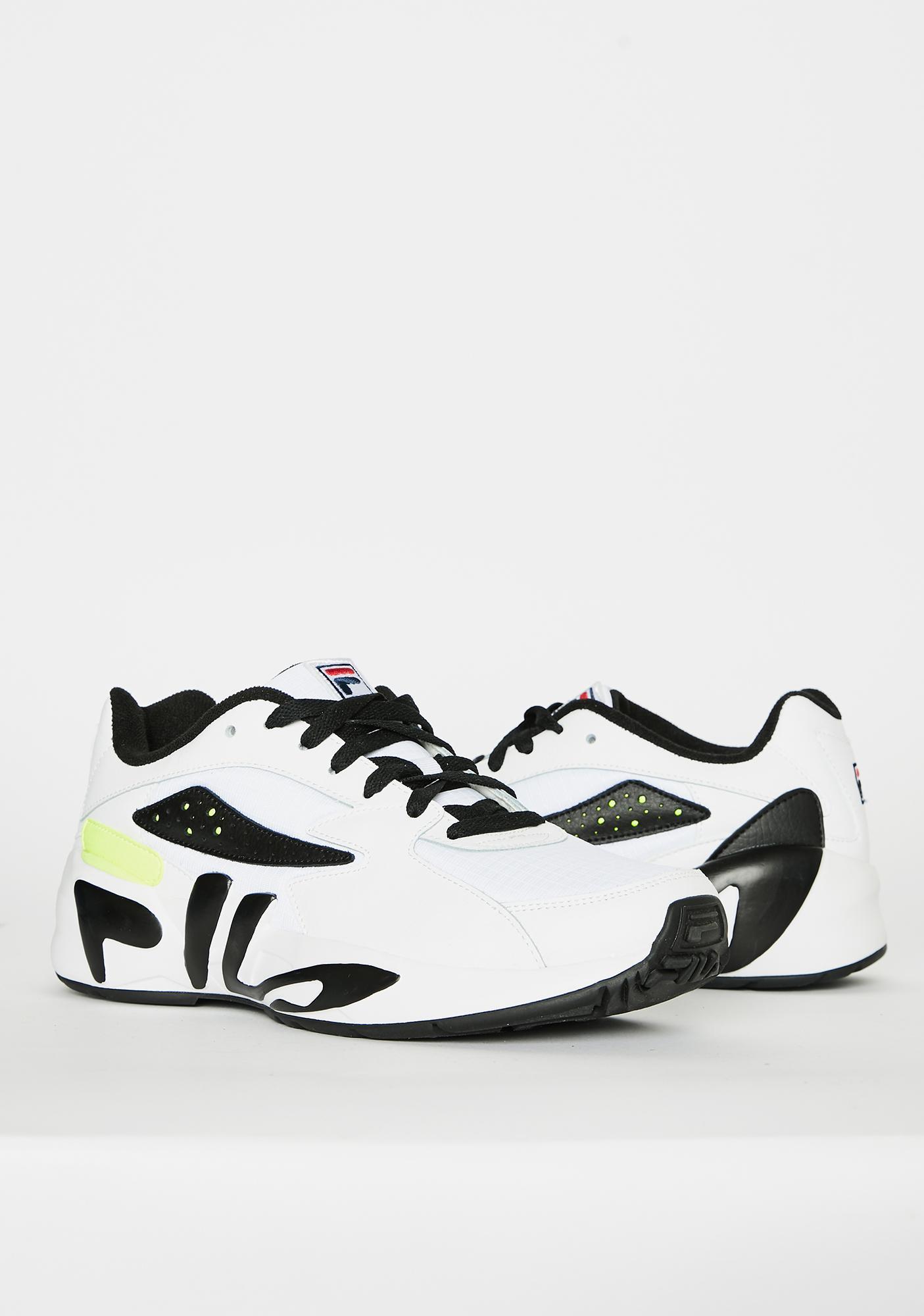 Fila Unisex White Mindblower Sneakers