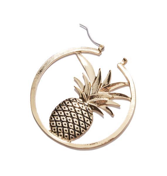 Diced Pineapple Hoops