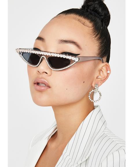 Fierce Flash Cat Eye Sunglasses