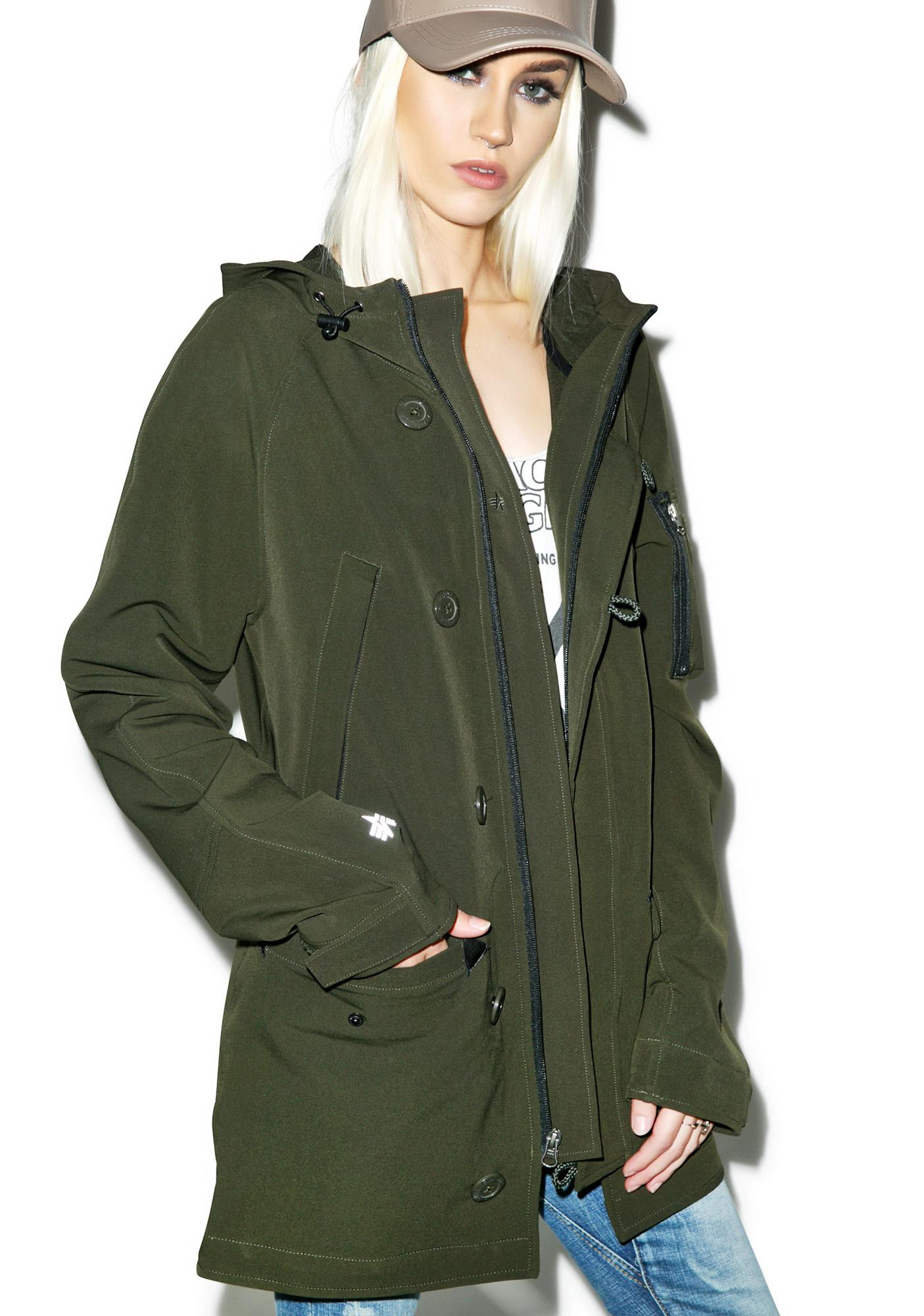 Alpha Industries N-3B Double Weave Coat
