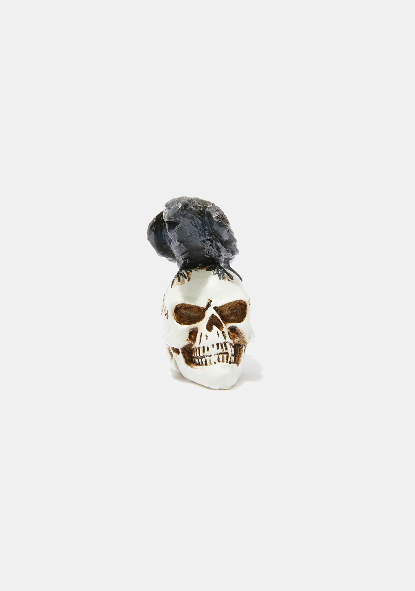 Alchemy England Raven Skull Miniature Model
