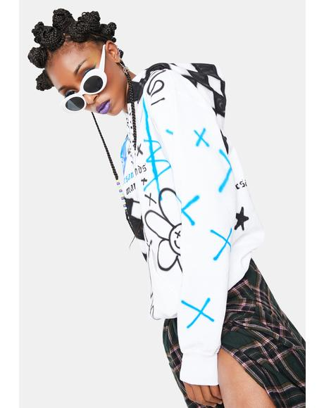 Domino Graphic Hoodie